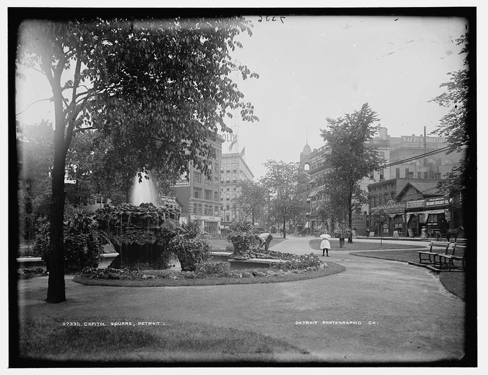 Capital Square Park historic photo