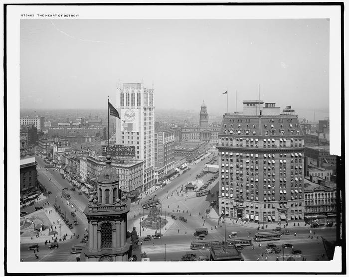 Heart of Detroit historic Photo
