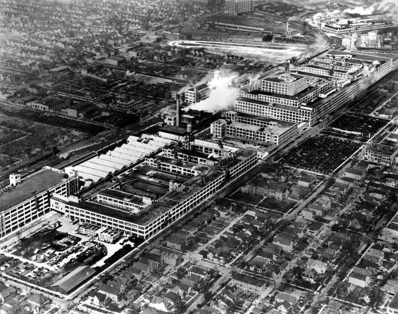 Packard Plant historic photo