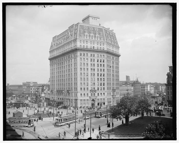 Pontchartrain Hotel historic photo